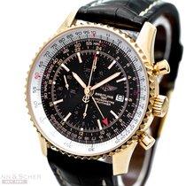 Breitling Navitimer Chronograph Ref-H24322 18k Rose Gold...