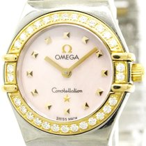 Omega Polished Omega Constellation My Choice Diamond Mop Dial...