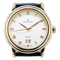 Blancpain 6850-3642-55 Villeret Ultra Slim Big Date Automatic...