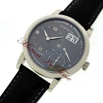 A. Lange & Söhne Lange 1, Grey Dial - White Gold on Strap