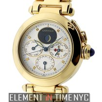 Cartier Pasha Collection Perpetual Calendar 18k Yellow Gold...