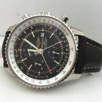 Breitling Navitimer World Steel Black Dial 46 mm (Full Set 2008)
