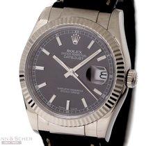 ロレックス (Rolex) Datejust Man Size Ref-116139 18k White Gold Box...
