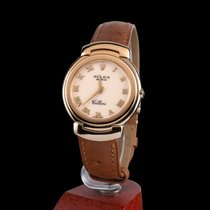 Rolex cellini yellow gold quartz men size