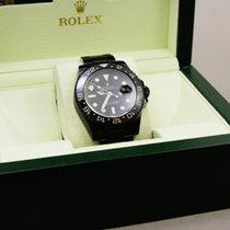 Rolex GMT II  Black Edition DLC Beschichtung Full Set LC 110