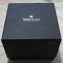 TAG Heuer vintage watch box leather black and leather wallet