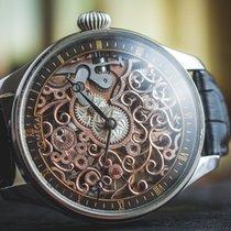 "Omega Marriage watch skeletonized  ""Ornaments"" steel..."