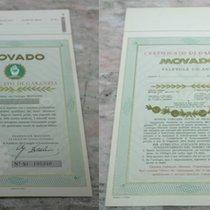 Movado rare vintage warranty papers blank newoldstock