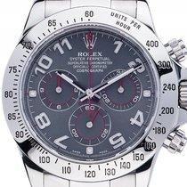 Rolex Daytona Custom Slate Arab Stahl Automatik Chronograph...