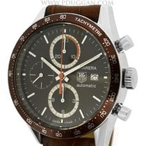 TAG Heuer stainless steel Carrera Chronograph
