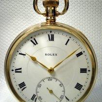 Rolex Antique Swiss Solid gold 9ct Pocket watch - Art 1923 Year
