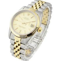 Rolex Used 68273_used_champ_stick Mid Size Datejust 2-Tone...
