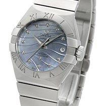 Omega Constellation Brushed Chronometer Pluma