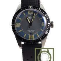 Oris Divers Sixty-Five Grey Deauville blue dial NEW