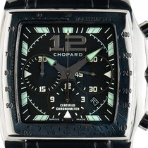 Chopard Tycoon Stahl Automatik Chronograph Chronometer Armband...