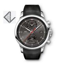 IWC Portugieser Yacht Club Chronograph New Grey Dial - Iw390503