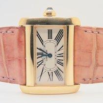Cartier Tank Divan Lady 18k Yellow Gold Ref. 2601