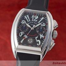 Franck Muller Conquistador Cc Chronograph Platin Rotor Herrenuhr