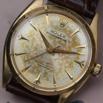 Rolex oyster perpetual 18k gold red 'Depth Writing' ...