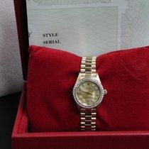 Rolex Ladies President Datejust 18L YG  69178 Diamond Bezel...