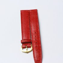 Cartier Leather Watchstrap with 18 KRT Buckle  Length: 18 cm...