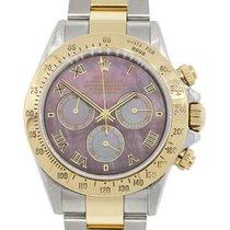 Rolex 116523 Daytona MOP Dial Two Tone Watch