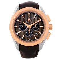 Omega Seamaster Aqua Terra Steel Rose Gold Watch 231.23.44.50....
