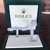Rolex Watch small Window Display green