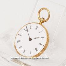 Le Comte - Geneve Kleine goldene Taschenuhr aus 750er Geldgold...