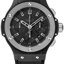 Hublot Big Bang Ceramic Ice Bang 44mm 301.ck.1140.gr Black Chrono