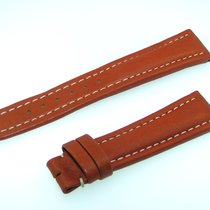 Breitling Band 19mm Brown Marron Calf Strap Ib19-21
