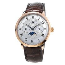 Frederique Constant Slimline Perpetual Silver Dial Automatic...