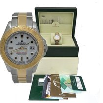 Rolex Ladies Rolex Two Tone Steel & Yellow Yacht-master...