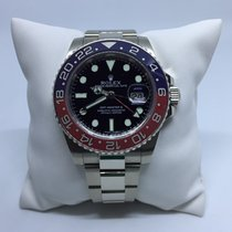 Rolex GMT-Master II 116719 18k White Gold Pepsi Bezel
