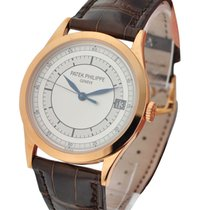 Patek Philippe 5296R-001 Calatrava Ref 5296R in Rose Gold - on...