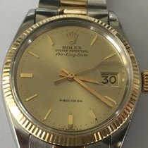 Ρολεξ (Rolex) Air King Date Ref. 5701 14K/SS On Oyster
