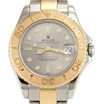 Rolex 68623 Yacht-Master Midsize Ladies Watch 18k & SS