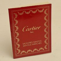 Cartier Instruction Manual Booklet Santos