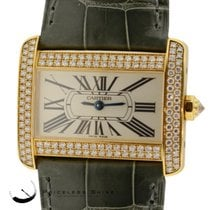 Cartier Tank Divan 2601 Solid 18k Yellow Gold Original...