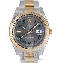 ロレックス (Rolex) Datejust II Silver/18k gold Ø41 mm - 116333