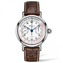 Longines Column Wheel Single Push Pulsometer Chronograph