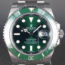 Rolex Submariner  date Hulk ref:116610LV  green