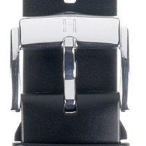 Hirsch Uhrenarmband Kautschuk Pure L schwarz 40538850-2-24 24mm