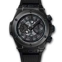 Hublot 411.JB.4901.RT 45mm Big Bang Unico All Black Sapphire...