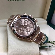 Rolex Daytona Rose Gold Baguettes Diamonds