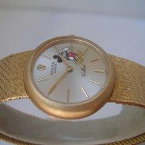 Rolex Cellini Mickey Mouse lady 3826 oro 18 kt anno 1970