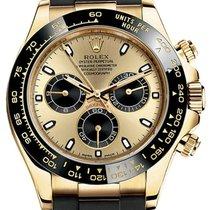 Rolex Cosmograph Daytona 116518LN Champagne Index Black...