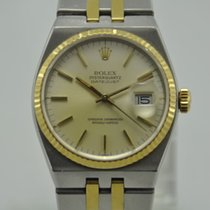 Rolex OysterQuartz Datejust Ref. 17013 Gold/Steel Sapphire...
