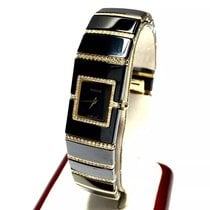Rado Diastar 18k Gold, Ss & High-tech Ceramic Ladies Watch...