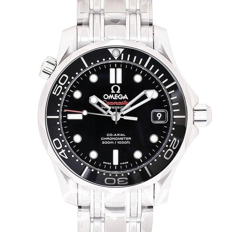 Omega Seamaster Diver 300m Black Steel 36 25mm 212 30 36 20